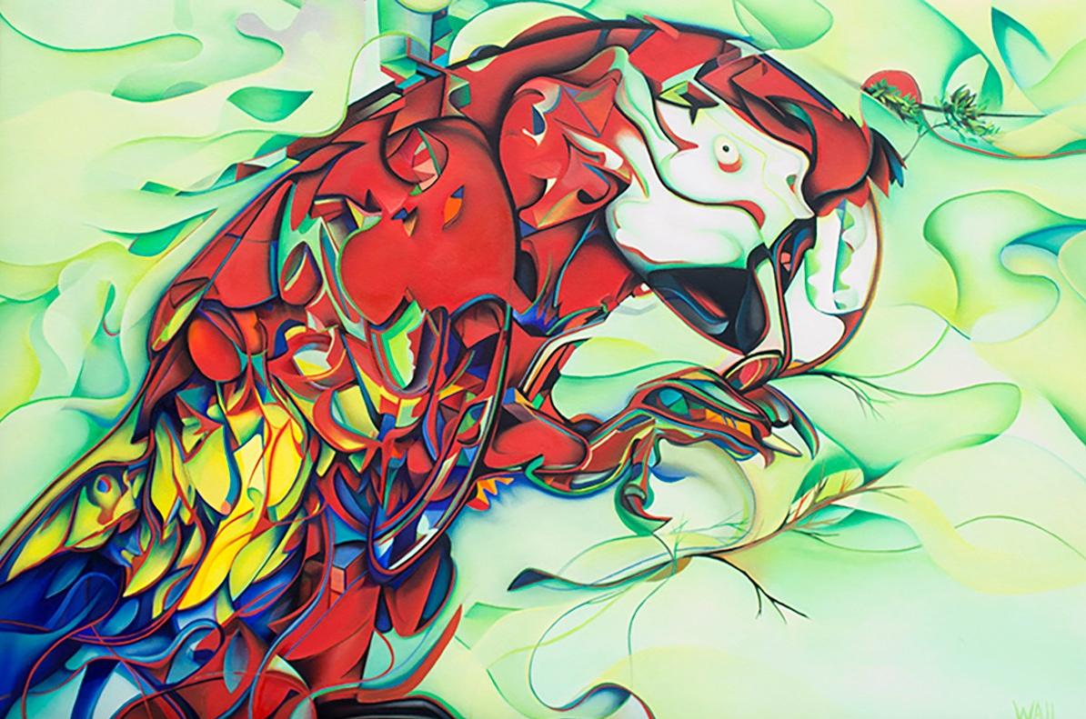 Scarlet Macaw 2 wp